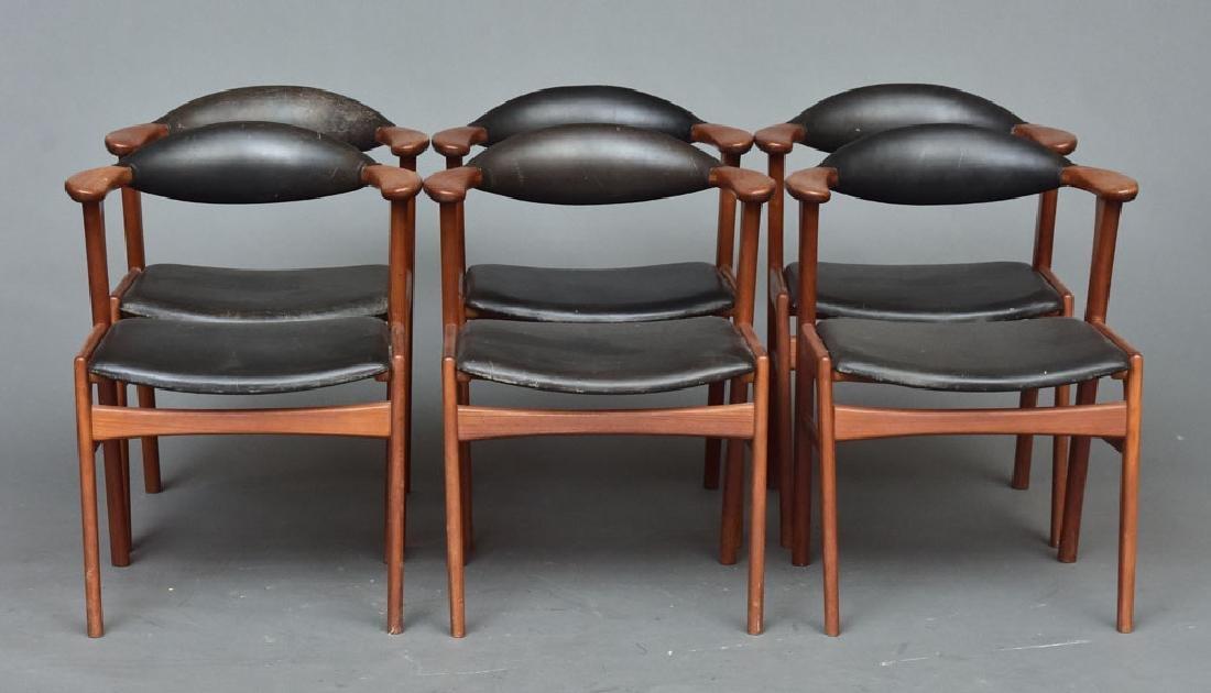 Set of Erik Kirkegaard chairs