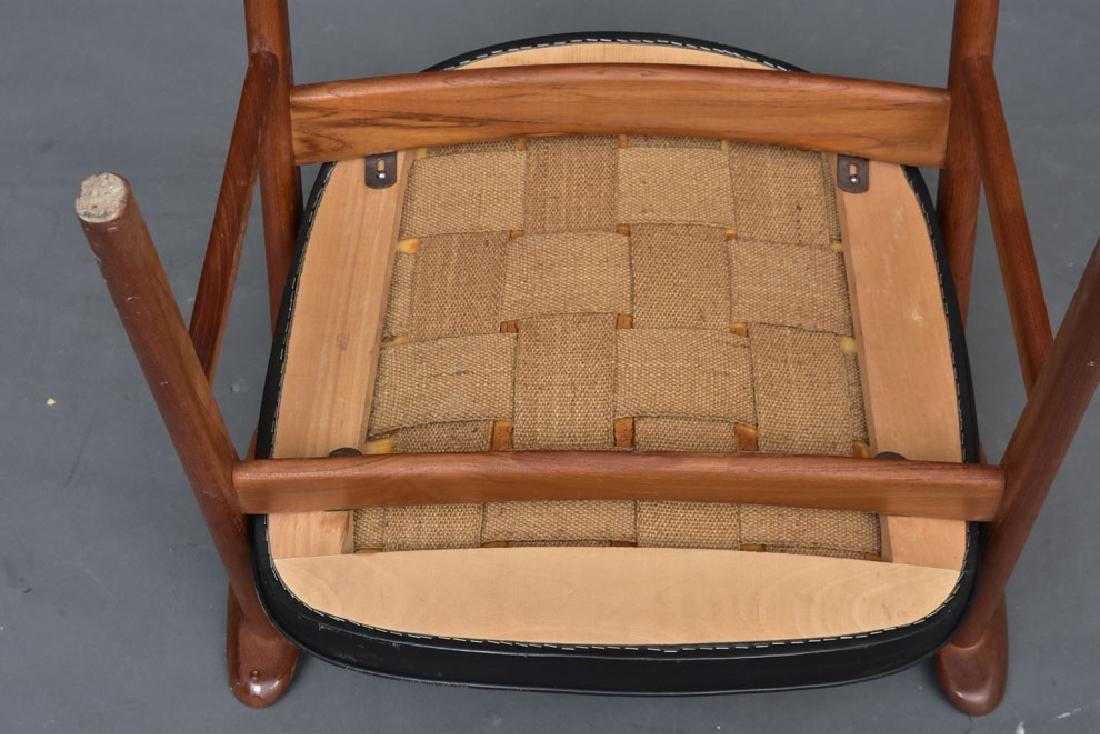 Set of Erik Kirkegaard chairs - 4