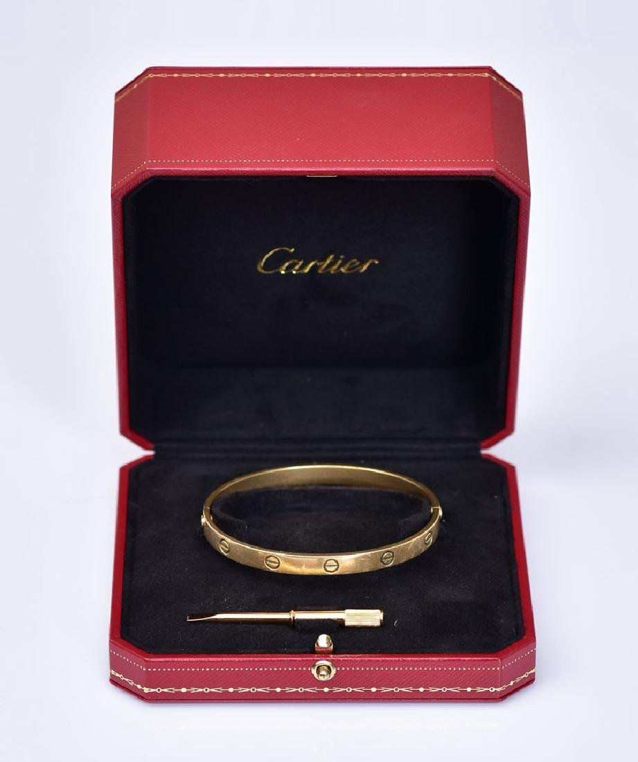 Cartier 18k Gold Love Bracelet