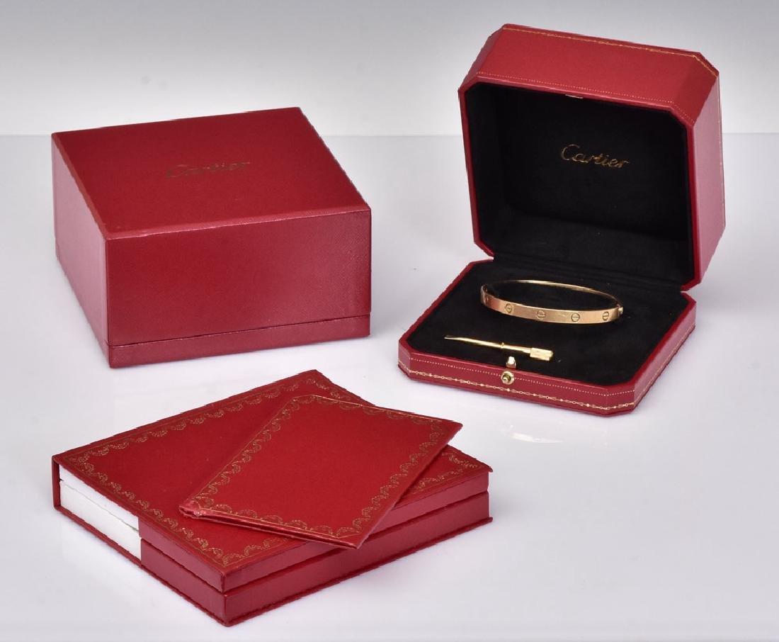 Cartier 18k Gold Love Bracelet - 2