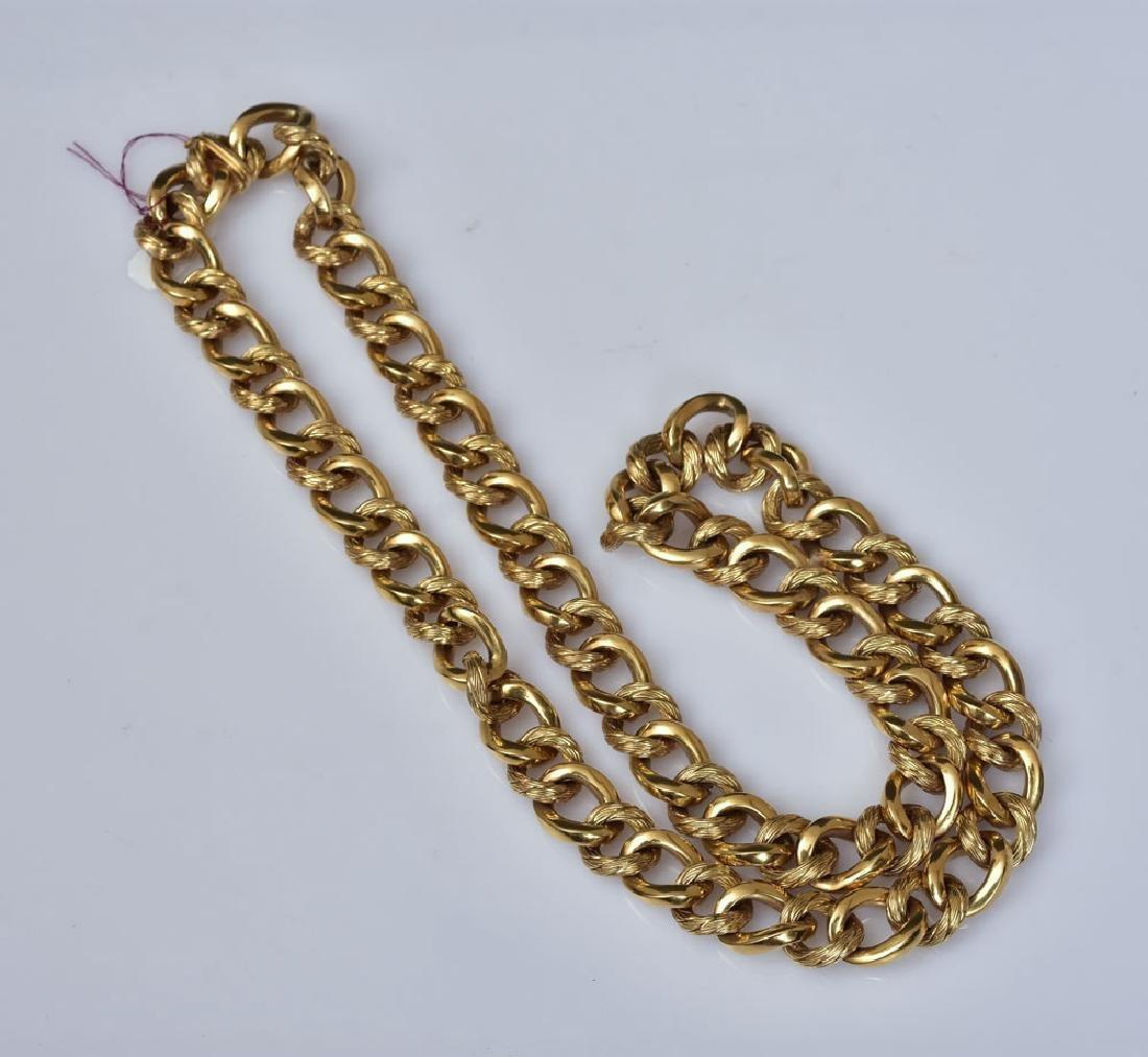 18k Gold Necklace - 2