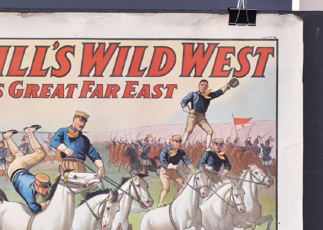 Buffalo Bill's Wild West Poster - 2
