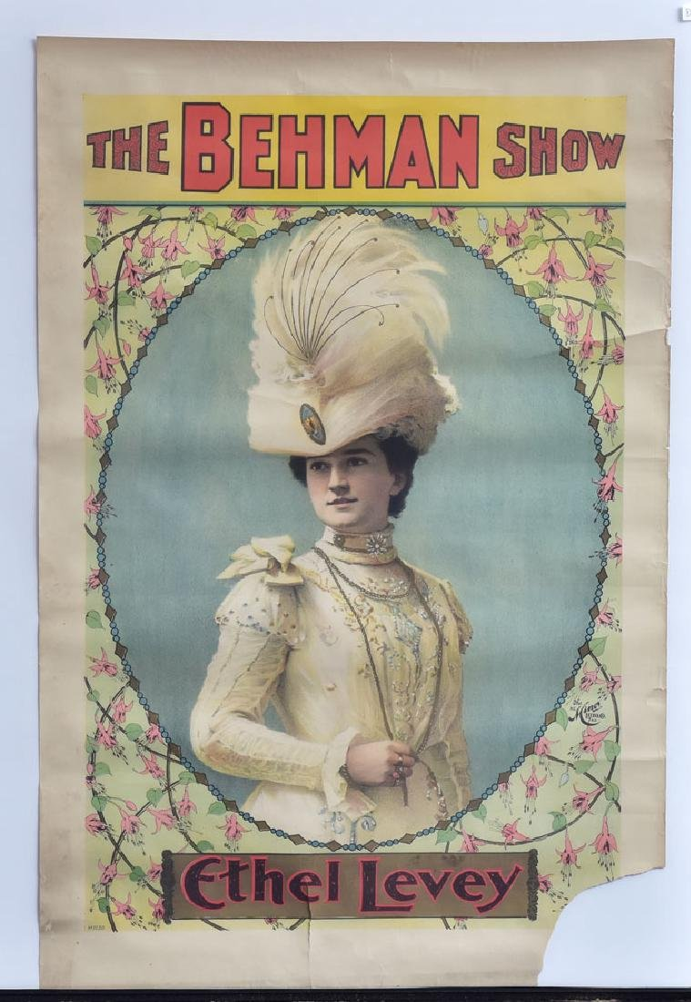 Two Vaudeville Posters - 2