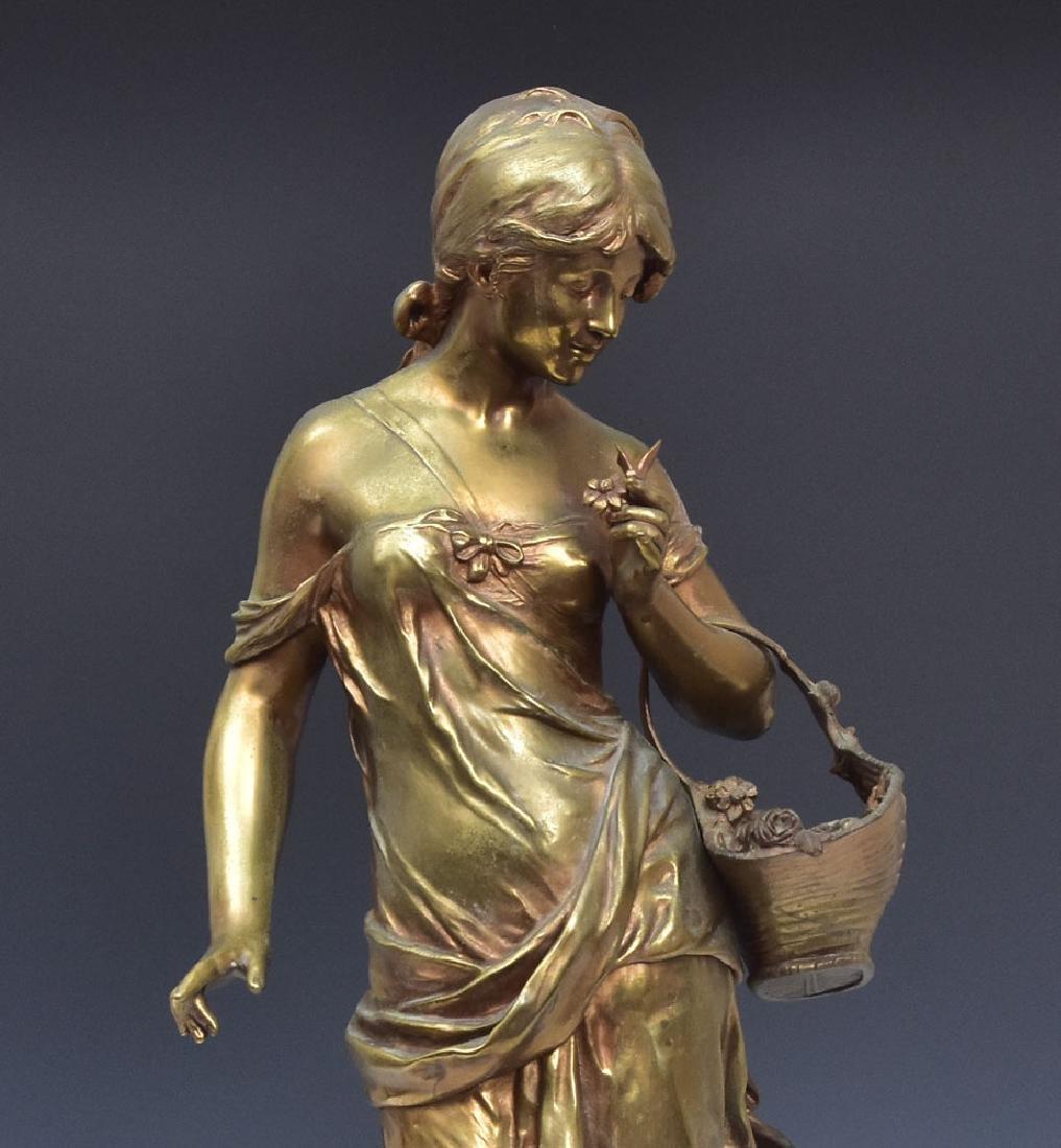 after Auguste Moreau Bronze Statue - 2