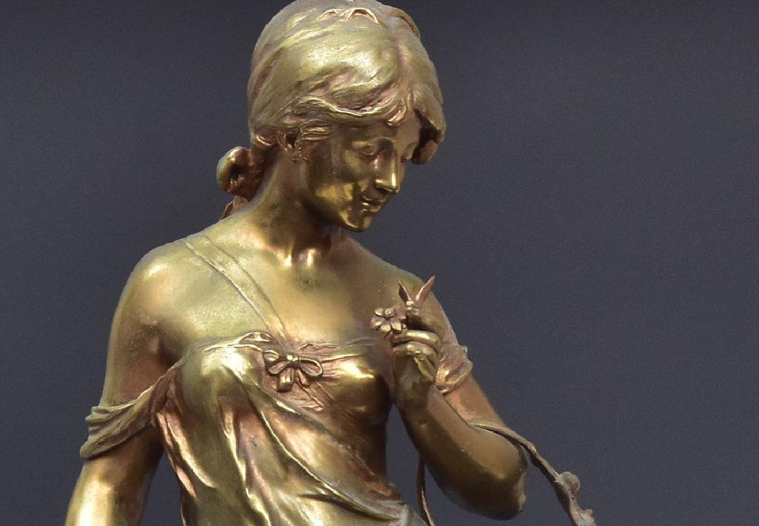 after Auguste Moreau Bronze Statue - 3