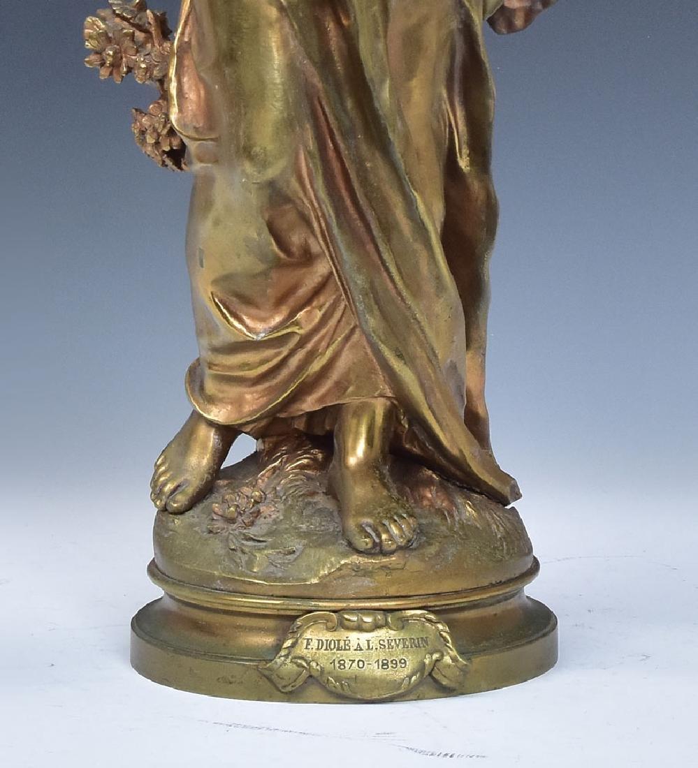 after Auguste Moreau Bronze Statue - 4