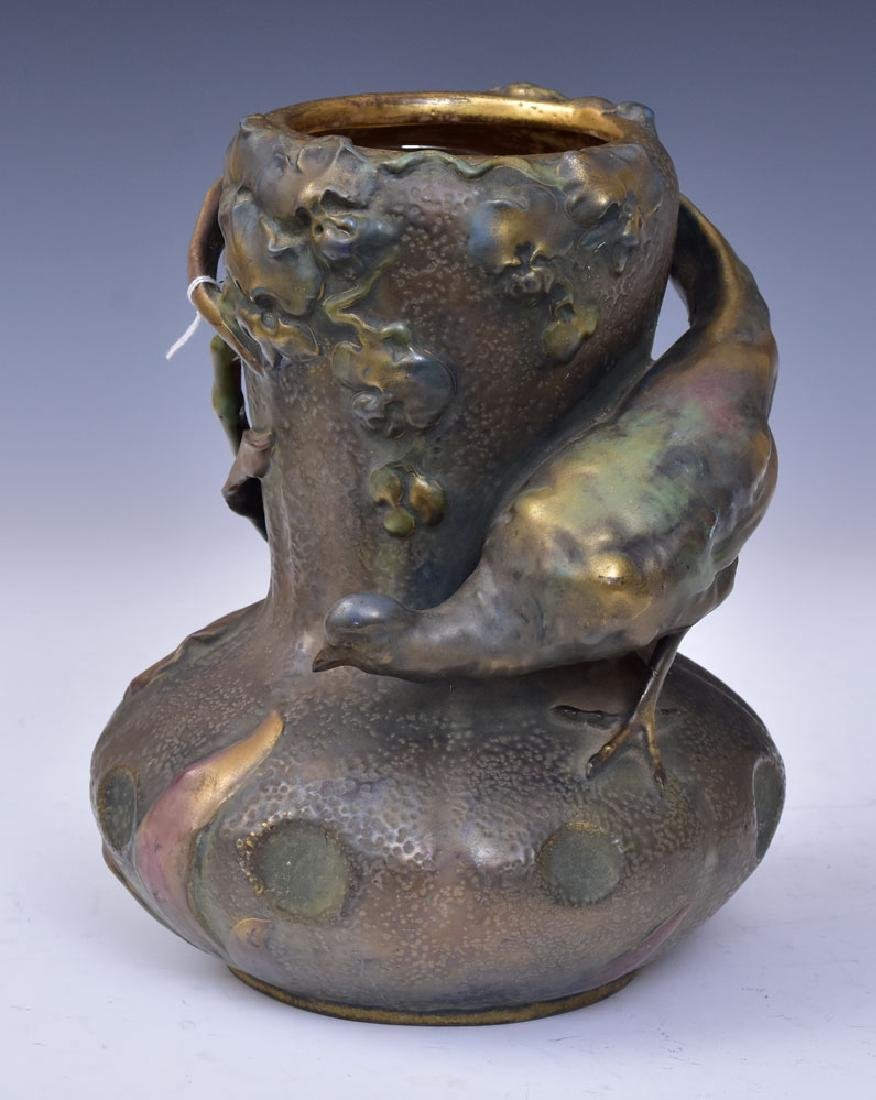 Amphora Vase with Bird