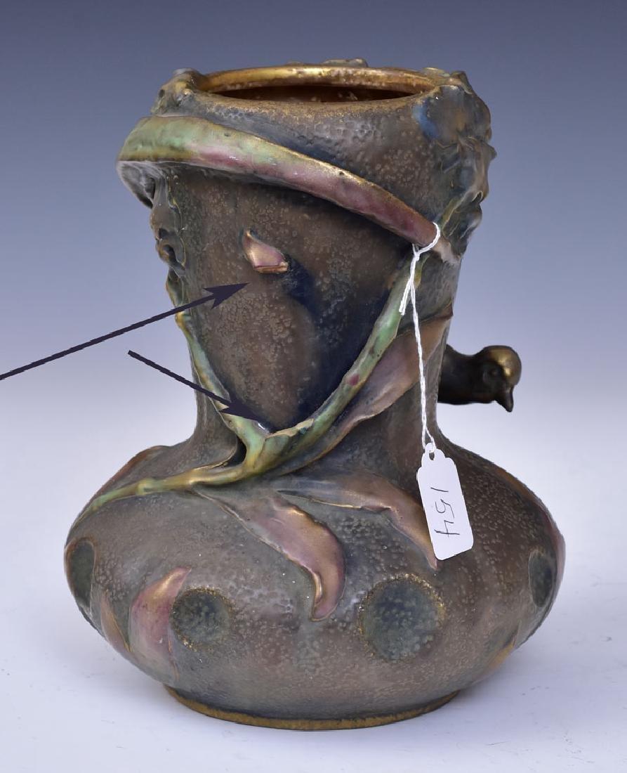 Amphora Vase with Bird - 2
