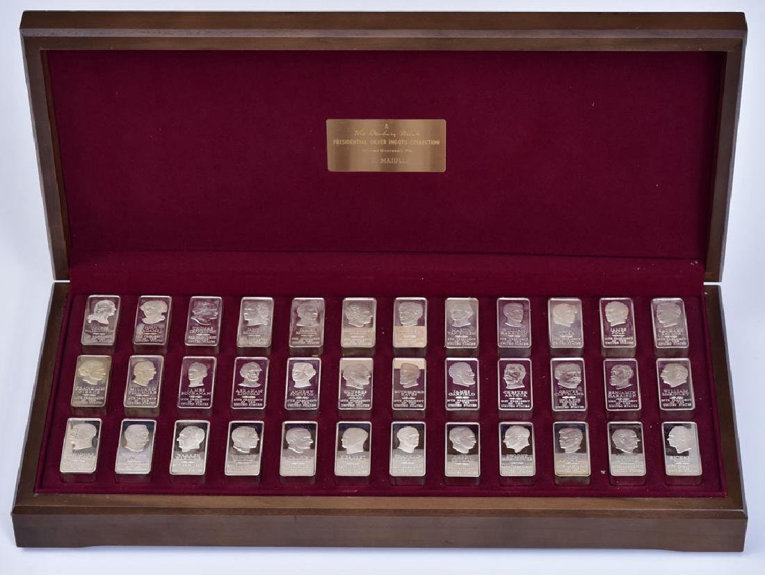 Presidential Silver Ingots Collection