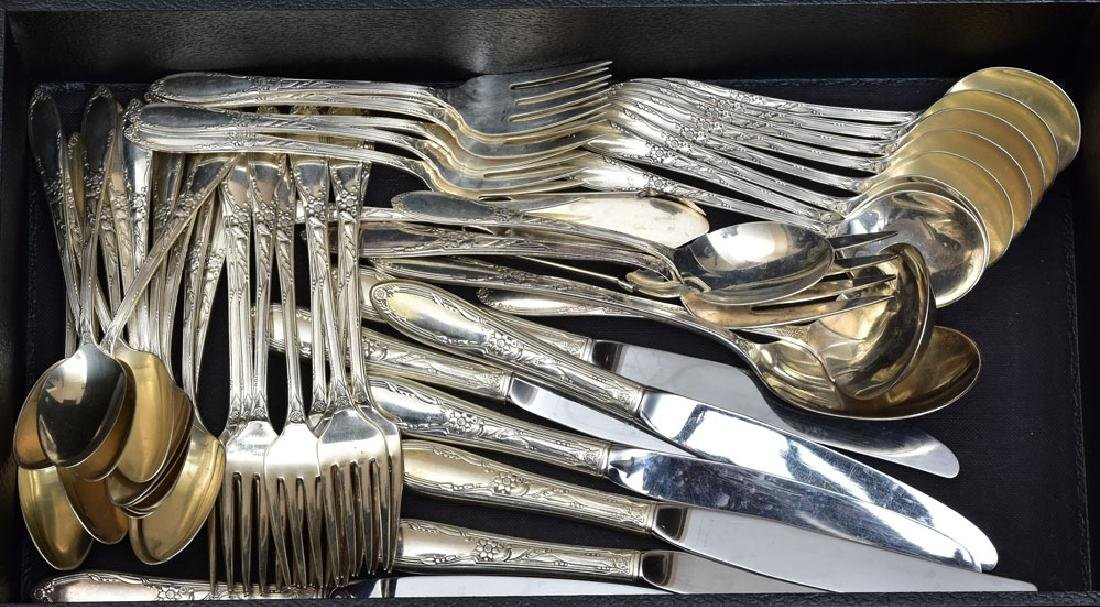 Oneida Partial Sterling Silver Flatware Set