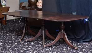 Regency Triple Pedestal Dining Table