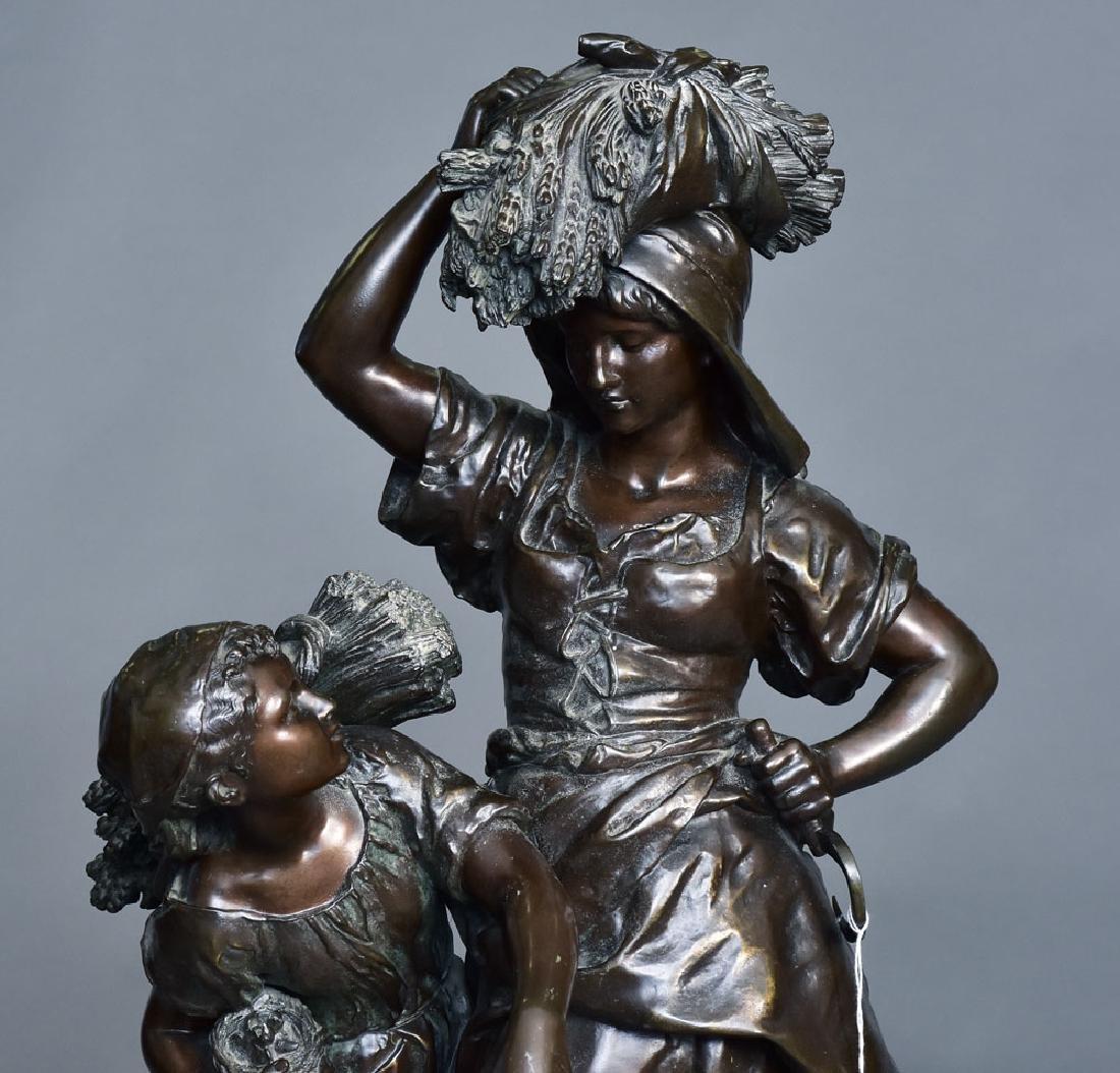 after Mathurin Moreau Bronze Statue - 2