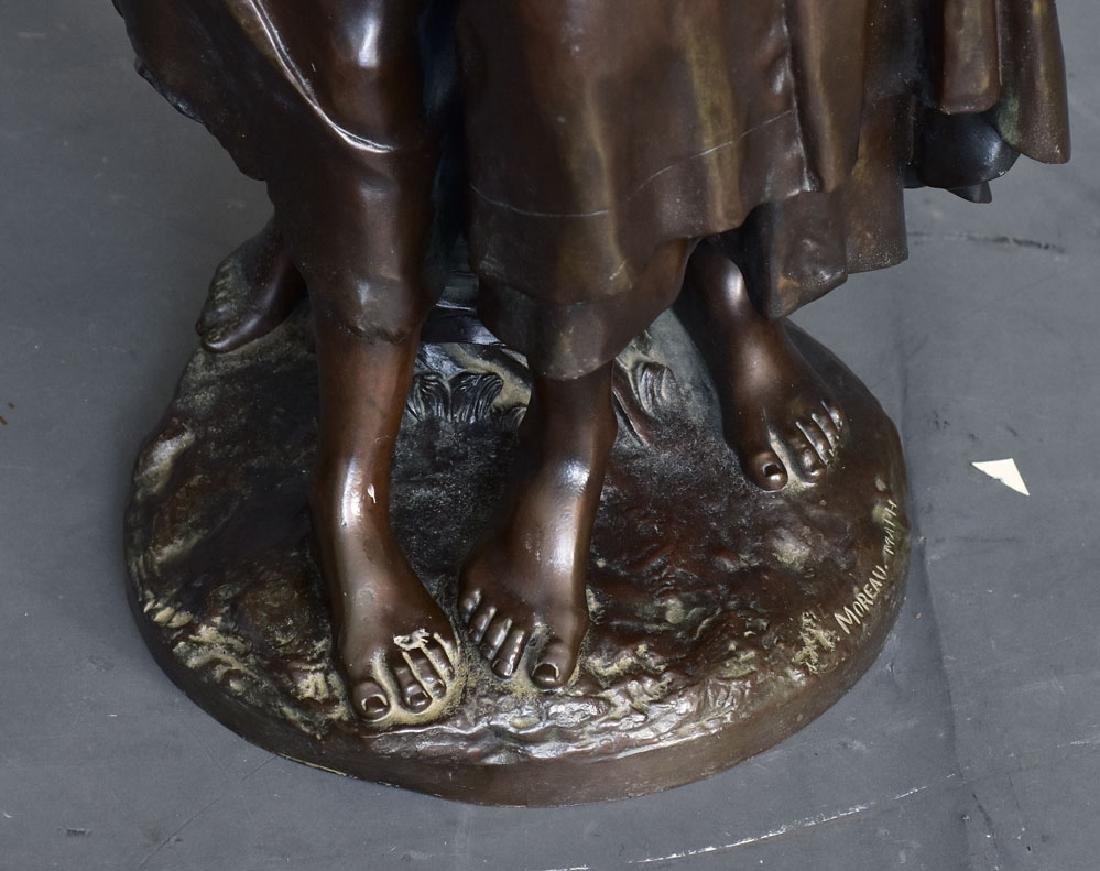 after Mathurin Moreau Bronze Statue - 3