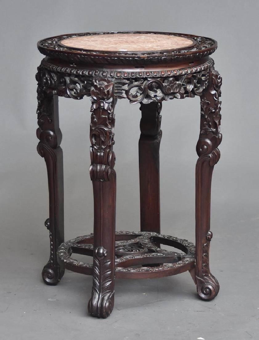 Chinese Marble Top Export Table