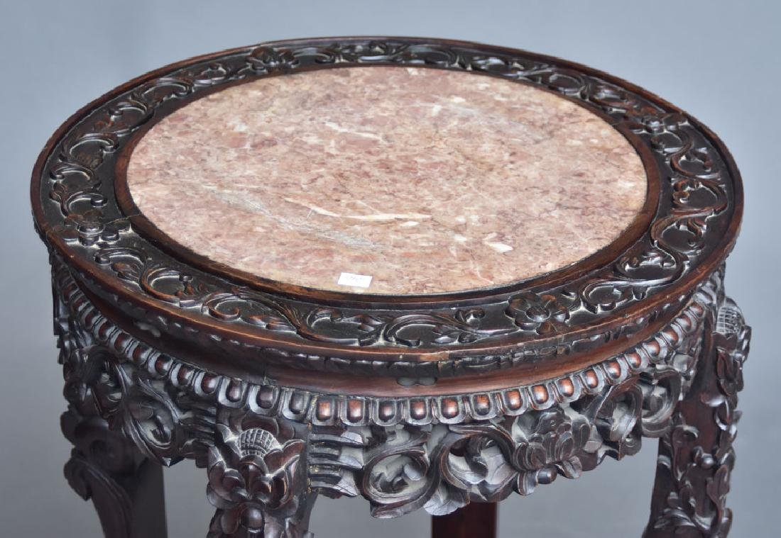 Chinese Marble Top Export Table - 2