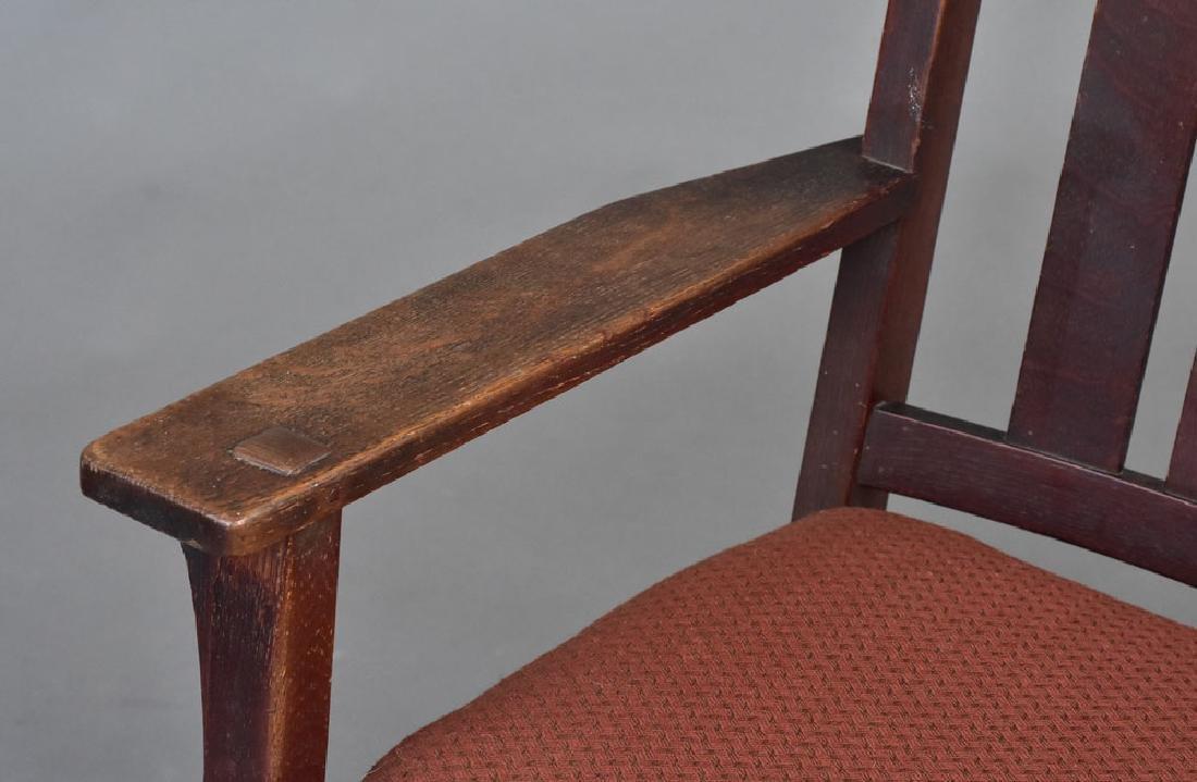 L & J G Stickley Rocking Chair - 2