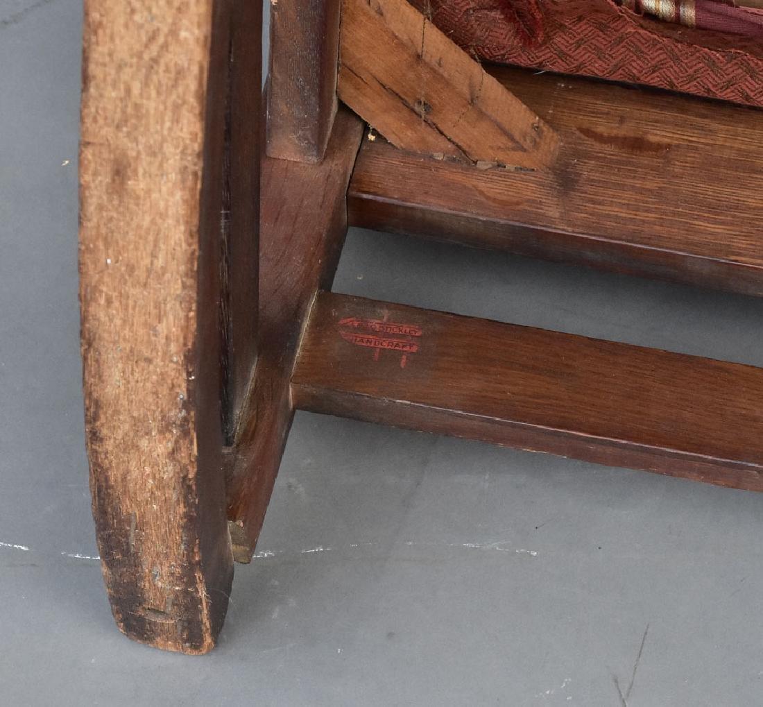 L & J G Stickley Rocking Chair - 3