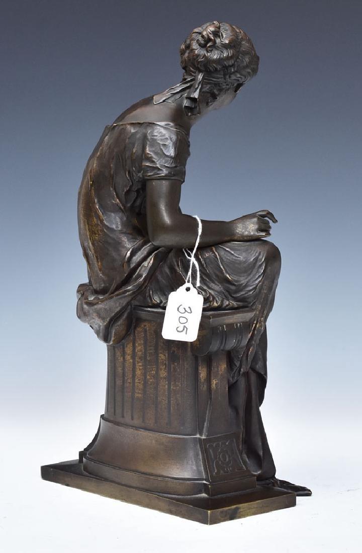 after Etienne Henri Dumaige Bronze Statue - 2