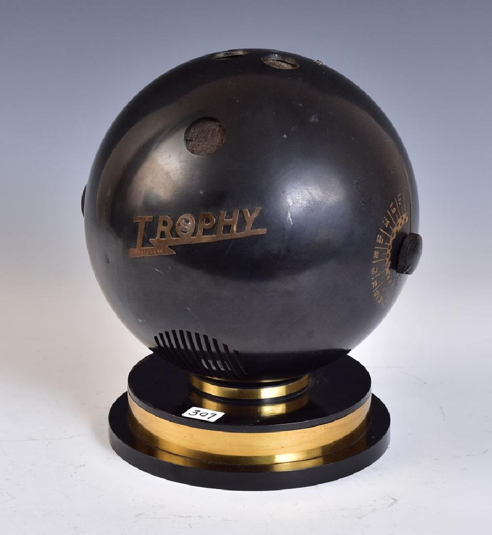 Trophy Bowling Ball Radio