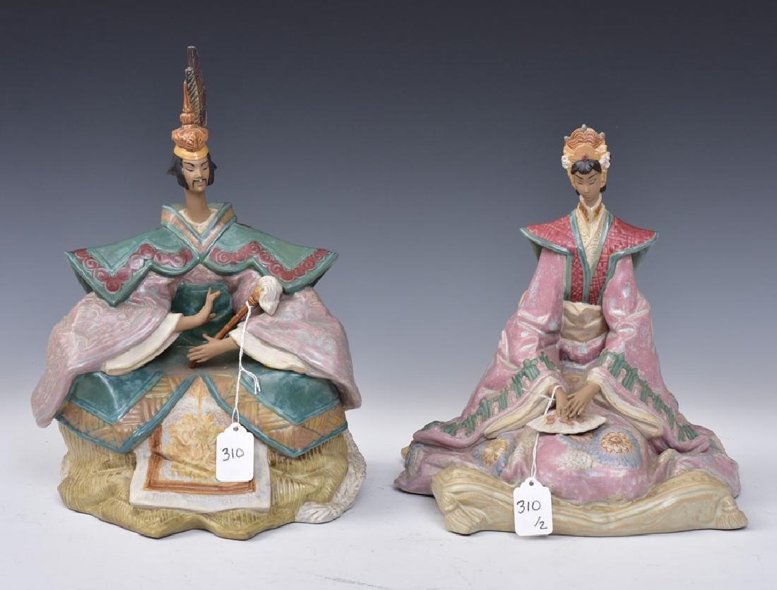 Lladro Porcelain Statues