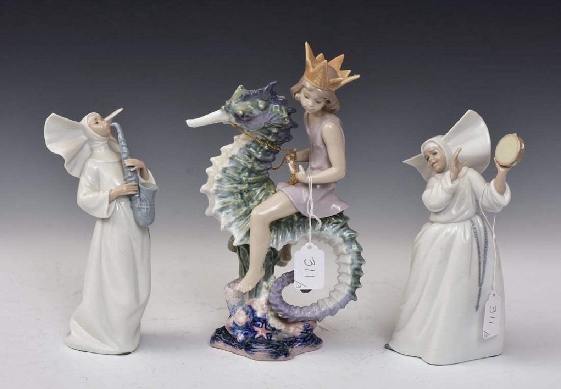 Lladro Porcelain Statues (3)
