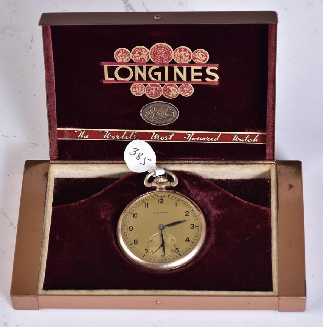Longines 14k Gold Pocket Watch