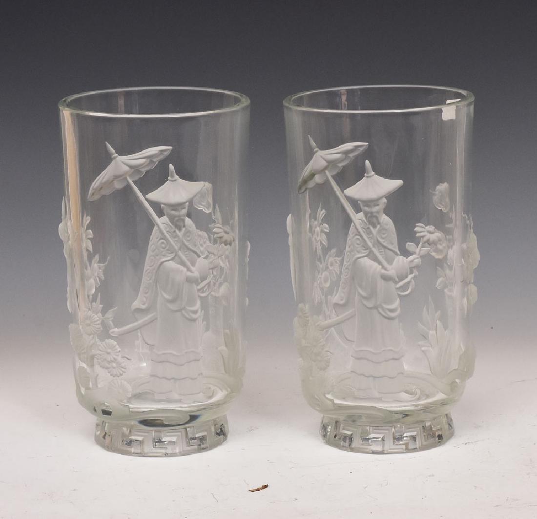 Verlys Glass Vases (2)