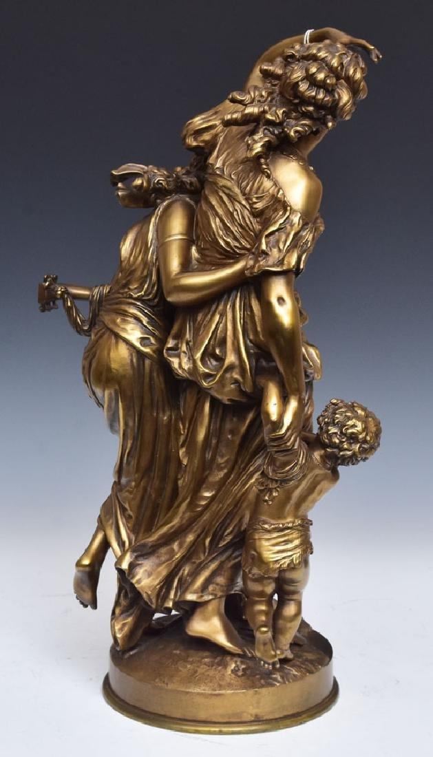 after Mathurin Moreau Gilt Bronze Statue - 2