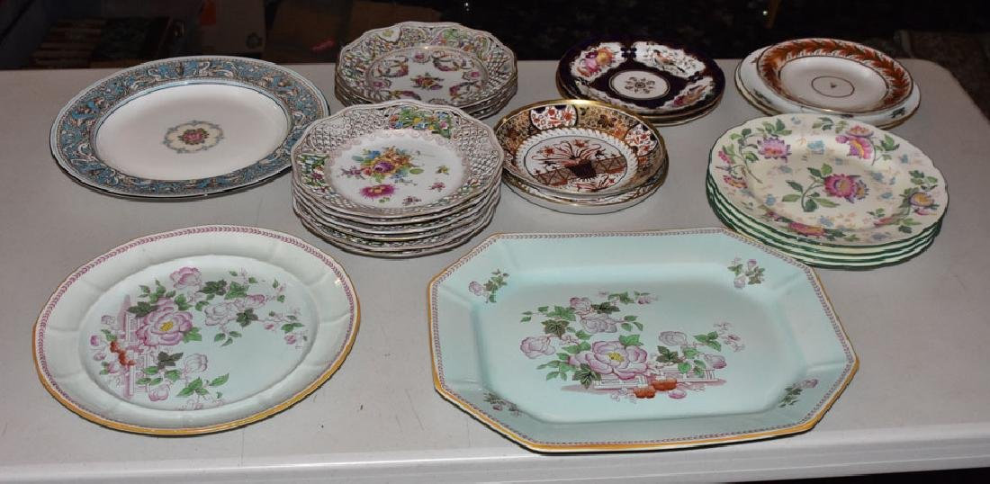 Group of Misc Plates