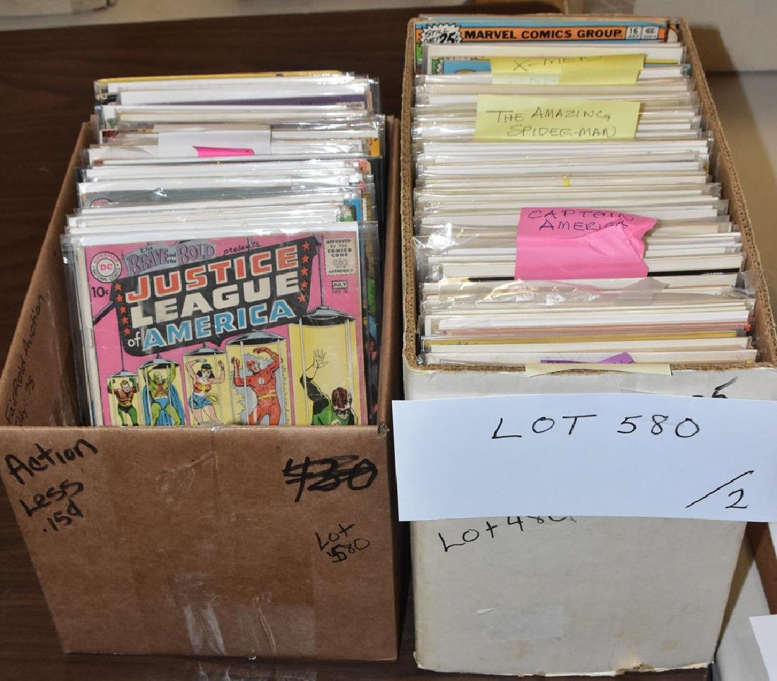 Large Group Of Vintage Comics