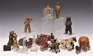 Collection of Antique Toys