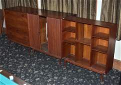 Group of Three Danish Modern Cabinets