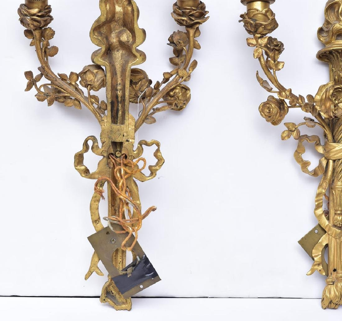 Pair of Caldwell Bronze Sconces - 3