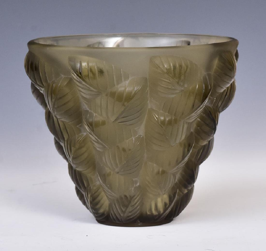 Lalique Moissac Vase