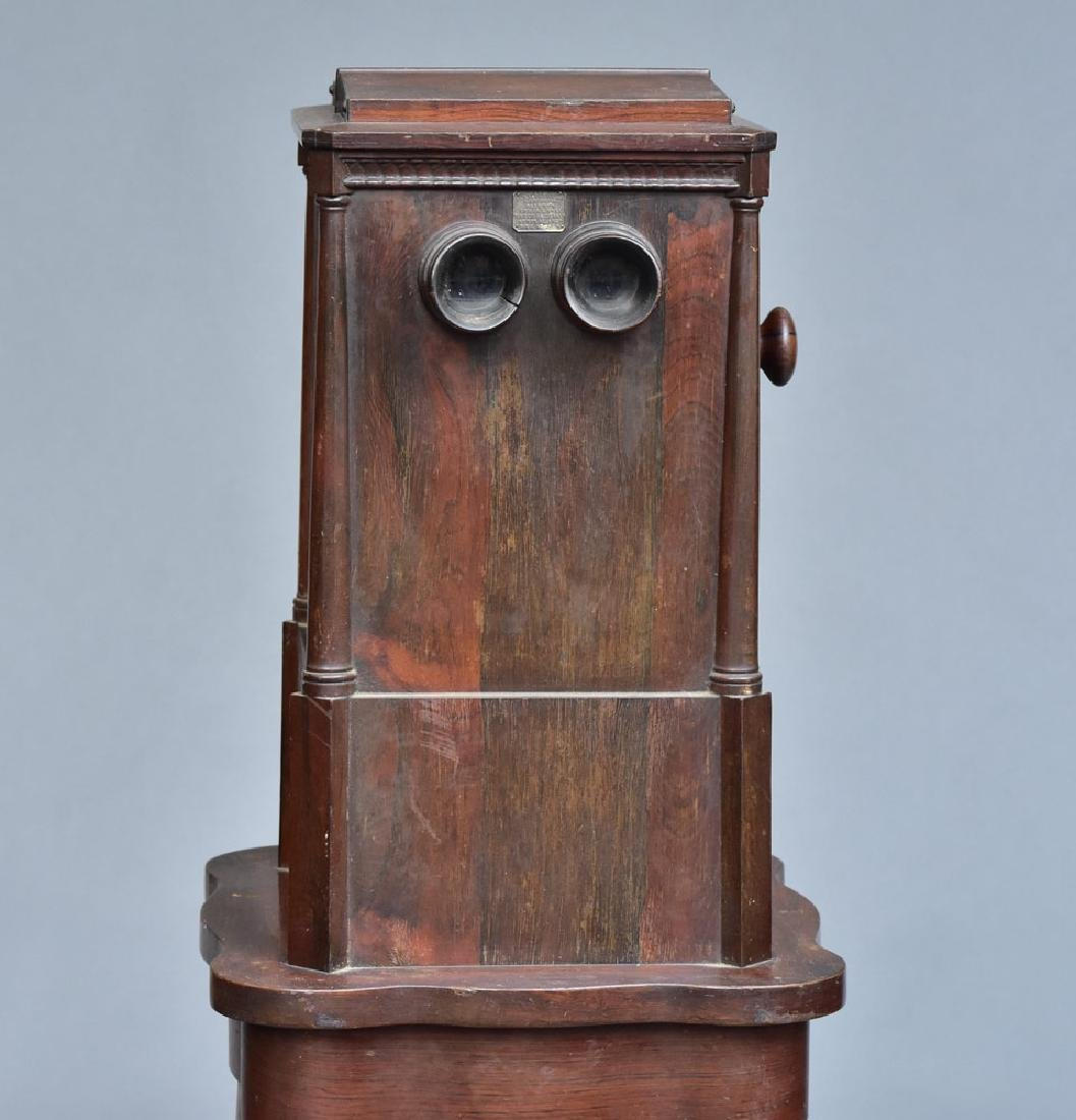Victorian Rosewood Stereoscopic Viewer - 2