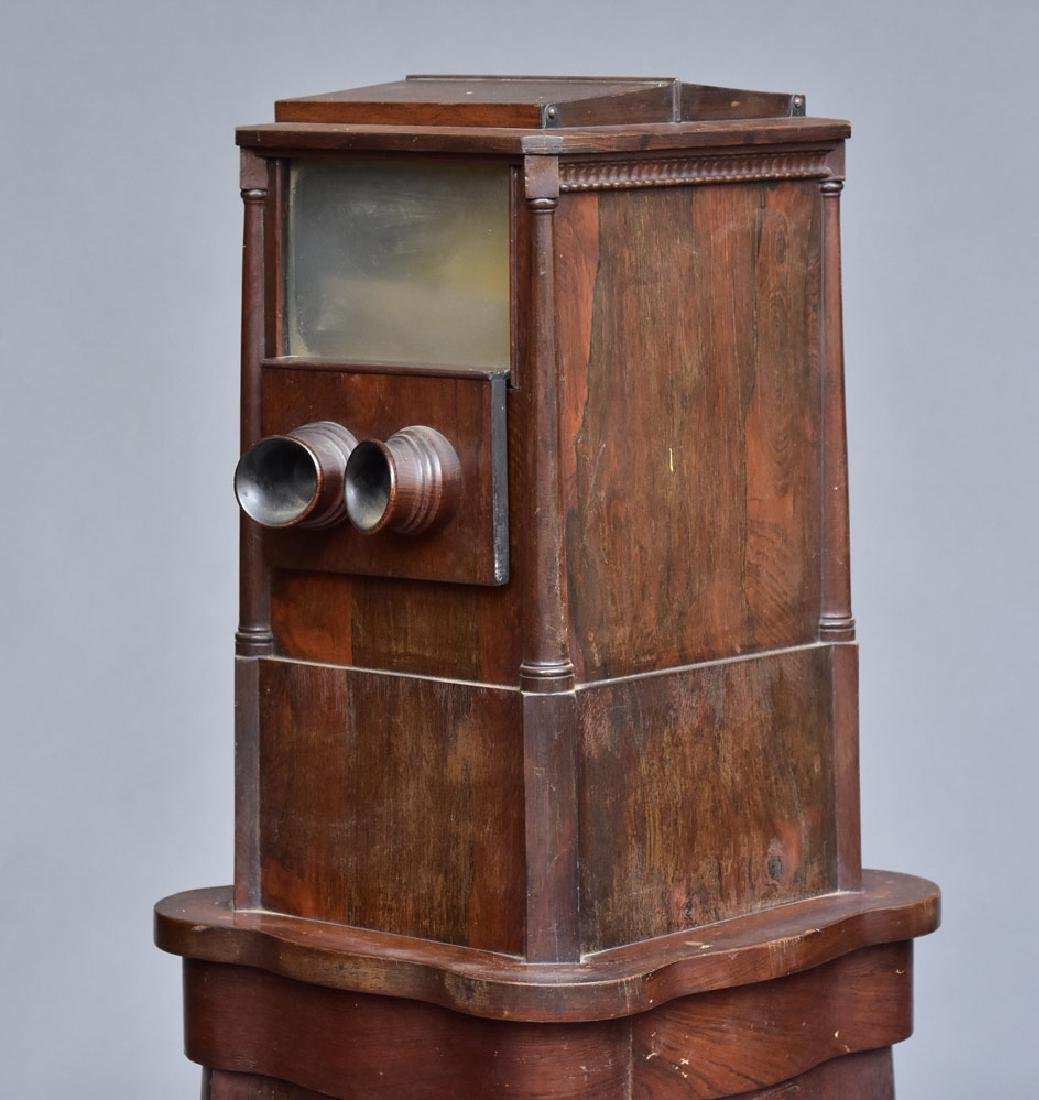 Victorian Rosewood Stereoscopic Viewer - 3