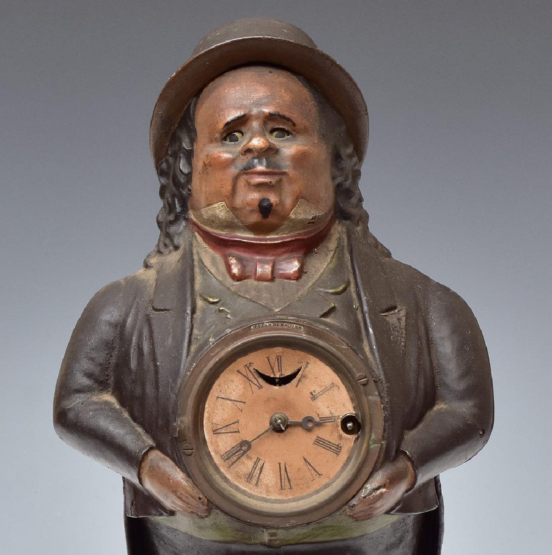 Cast Iron Blinking Eye Clock - 2