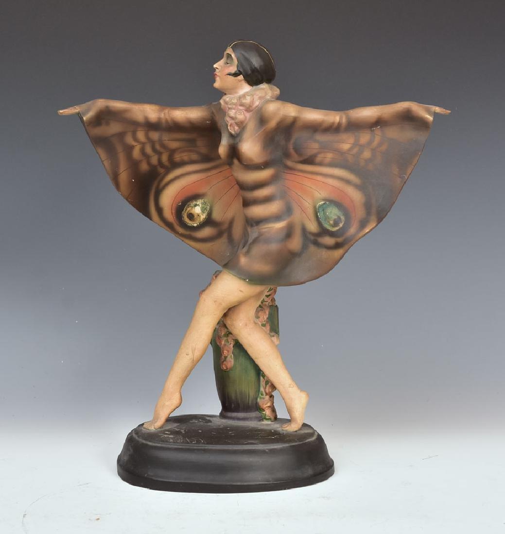 Goldscheider Art Deco Statue