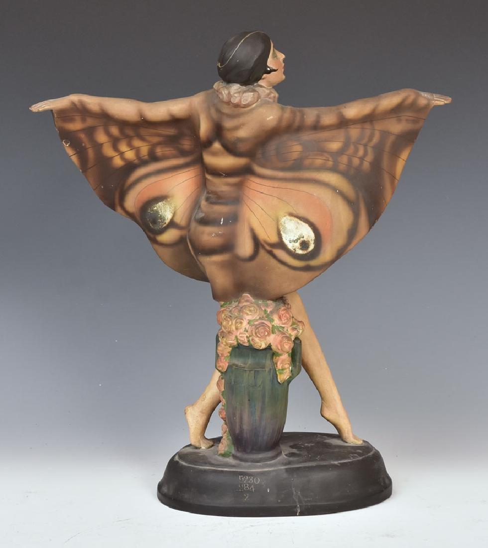 Goldscheider Art Deco Statue - 2