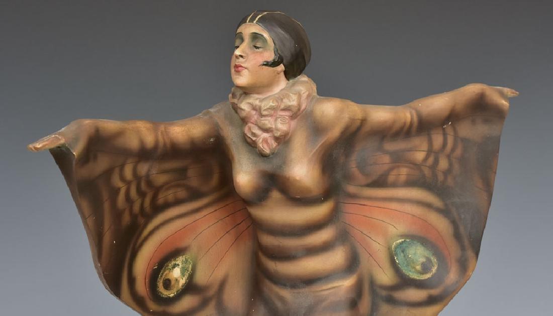 Goldscheider Art Deco Statue - 3