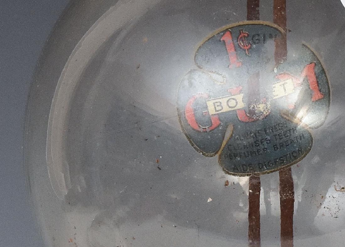 Antique Gumball Machine - 3