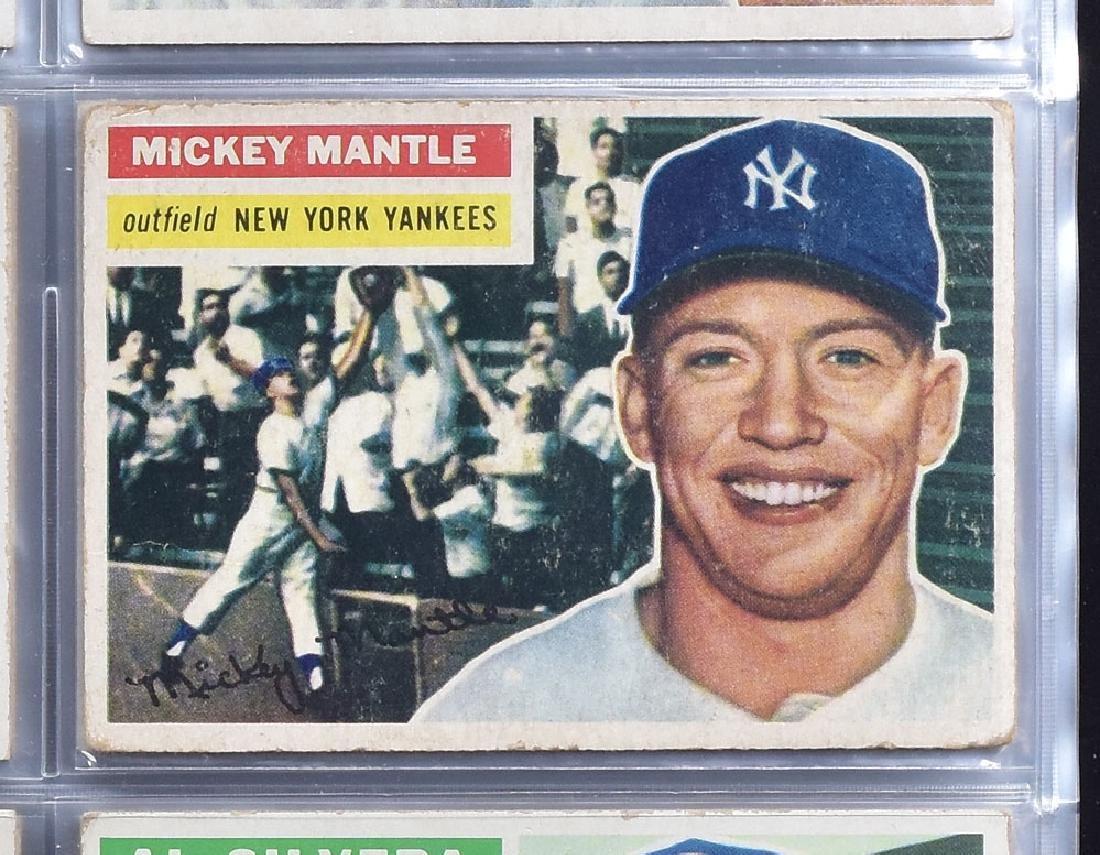 1956 Topps Baseball Card Set - 10