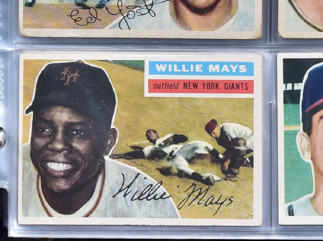 1956 Topps Baseball Card Set - 11