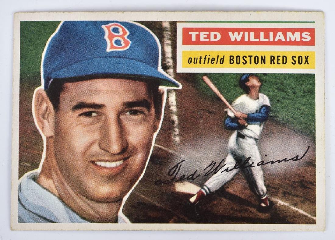1956 Topps Baseball Card Set