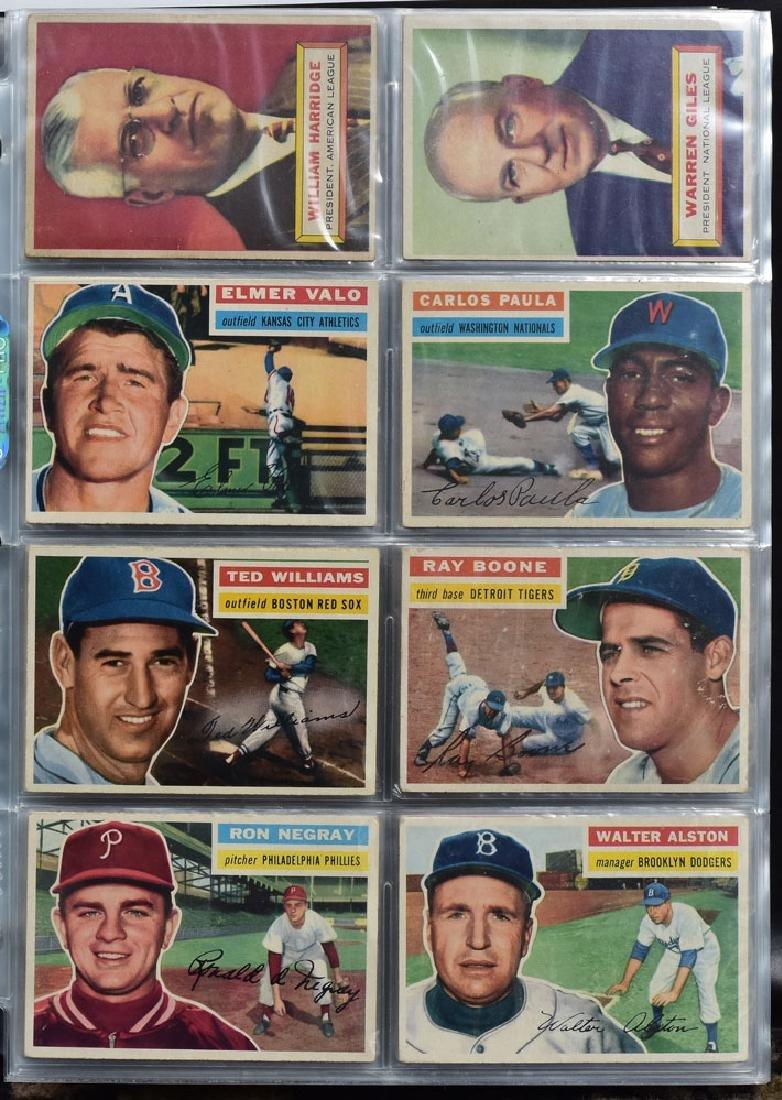 1956 Topps Baseball Card Set - 2