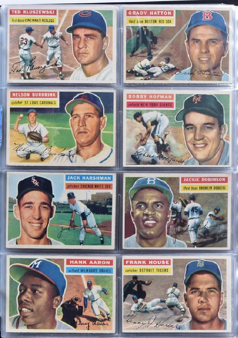 1956 Topps Baseball Card Set - 3