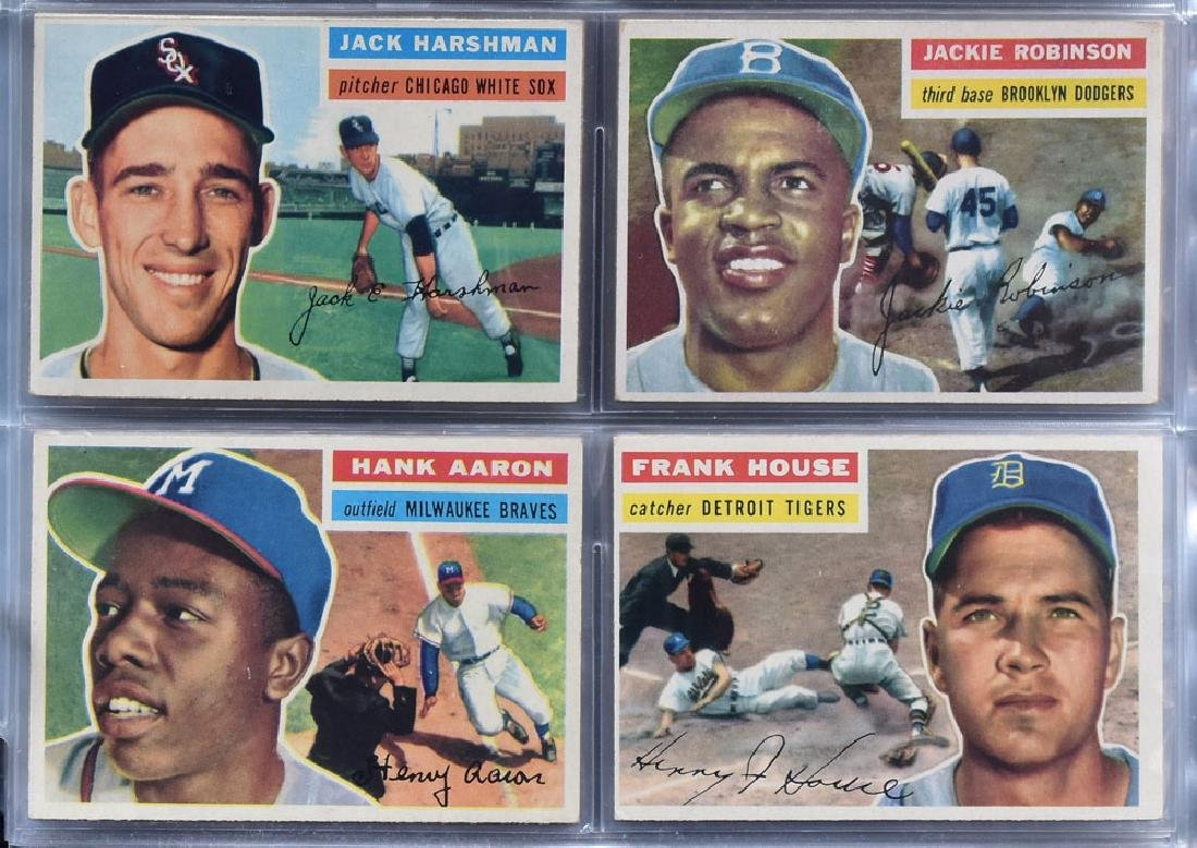 1956 Topps Baseball Card Set - 4