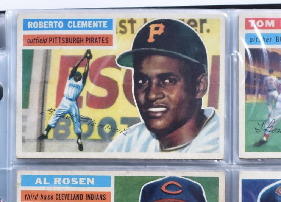 1956 Topps Baseball Card Set - 5