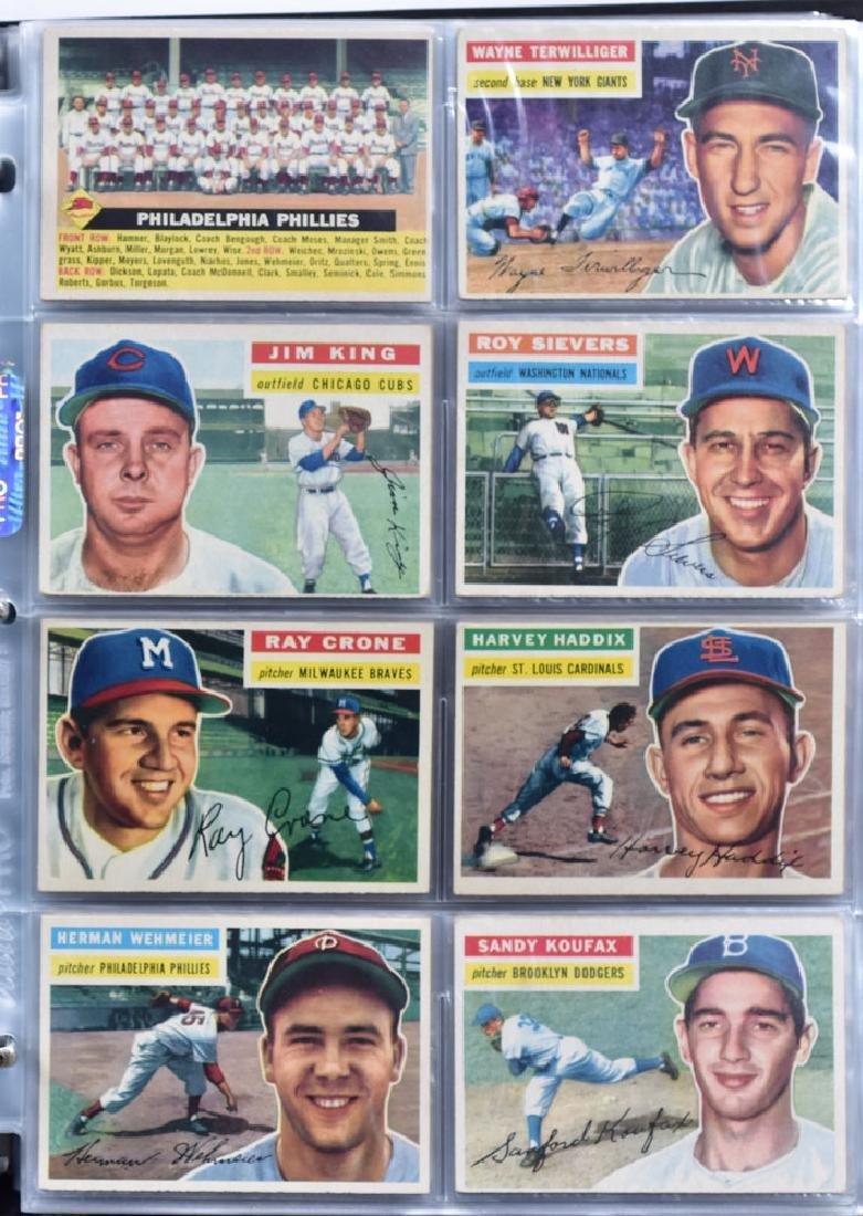 1956 Topps Baseball Card Set - 6