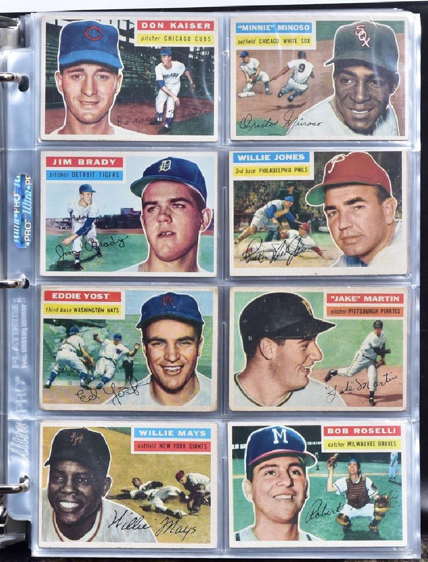 1956 Topps Baseball Card Set - 7